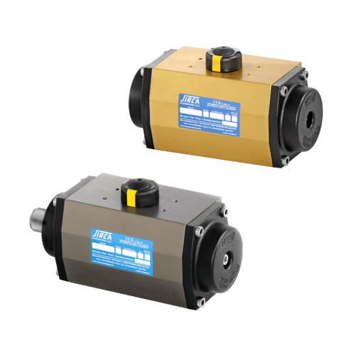 AP-APM -Pneumatic Actuators / Valve Actuators: Pneumatic Actuators and Manual Operators - Quality certified butterfly valves, ball valves, actuators and controls