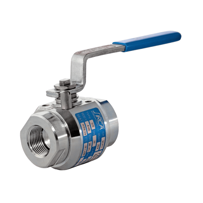 S20 - Threaded Ball Valves
